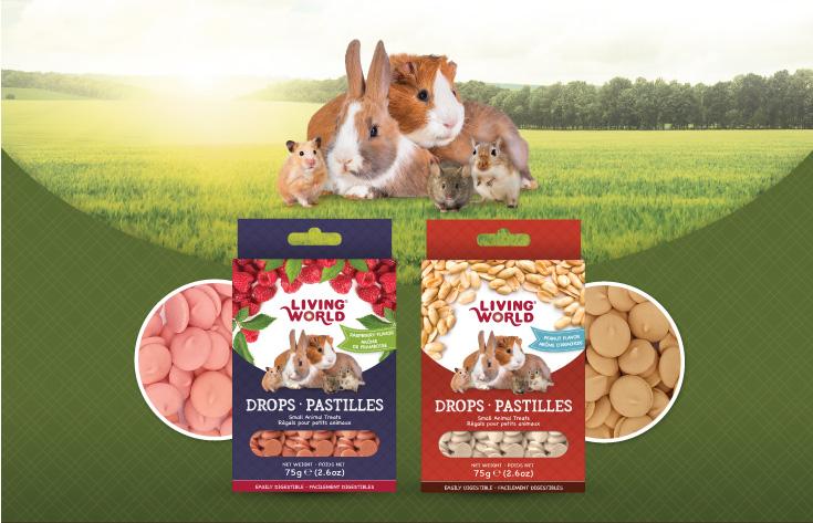Living World Drops: Small Animal treats