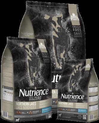 Aliment Subzero Nutrience Sans grains Lacs nordiques pour chiens