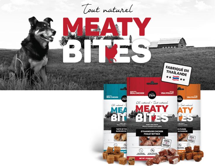Tout naturel Meaty Bites