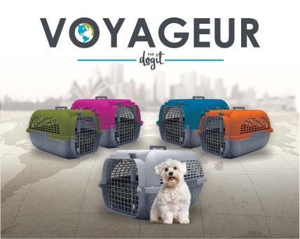 Cage Voyageur Dogit pour chiens