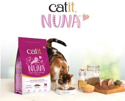 Aliment supérieur Catit Nuna pour chats