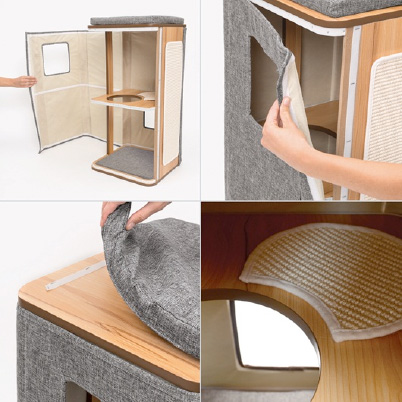 Meuble Cubo Tower Catit Vesper