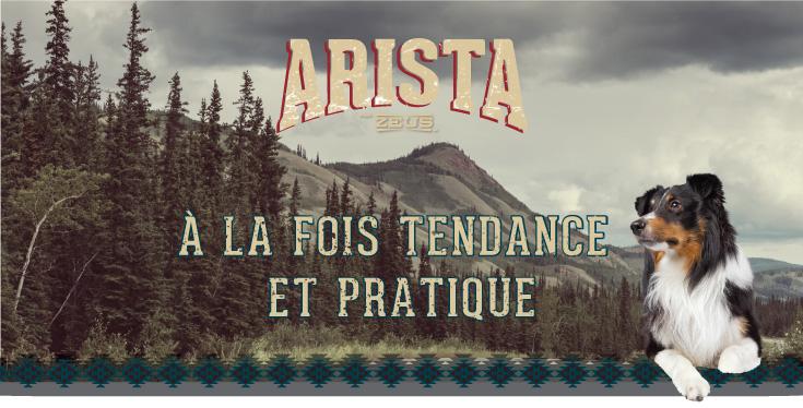 Arista par Zeus - À LA FOIS TENDANCE ET PRATIQUE