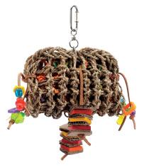Pochette à fourrager avec bois Tropical Trove Living World pour oiseaux