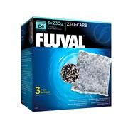 Masse filtrante Zeo-Carb pour filtre à moteur Fluval C4, paquet de 3