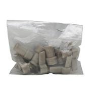 Charnières en plastique pour côté droit des cages Pet Voyageur Dogit, modèles 100 à 400, gris chaud paquet de 8