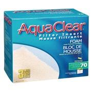 Blocs de mousse filtrante pour AquaClear 70/300, paquet de 3