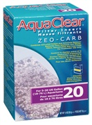 Masse filtrante Zeo-Carb pour filtre AquaClear 20/Mini, 55 g (1,9 oz)