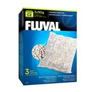 Neutralisant d'ammoniaque pour filtre à moteur Fluval C2, paquet de 3