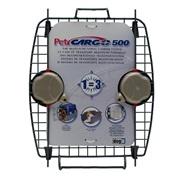 Porte avant en métal avec 2 verrous pour cage de transport CargoDogitDesign, modèle500