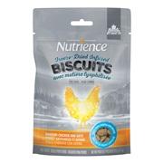 Biscuits séchés à froid Nutrience Infusion, Poulet savoureux et avoine, 135 g (4,7 oz)
