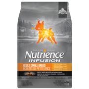 Aliment Nutrience Infusion pour chiens adultes de petite race, Poulet, 2,27 kg (5 lb)