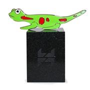 Figurine « Voir la vie en couleurs », gecko, 2011