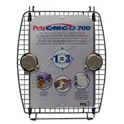 Porte avant en métal avec 2 verrous pour cage de transport CargoDogitDesign, modèle700