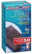 Charbon activé pour filtre AquaClear 50/200, 70 g (2,5 oz)