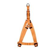 Harnais à fixation rapide Zeus en nylon, tangerine, petit, 1 x 33-45 cm (3/8 x 13-18 po)