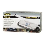 Système d'éclairage double GLO T5 HO à ballast électronique, pour deux tubes fluorescents T5 HO de 24W ou 39W