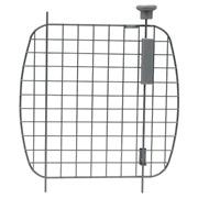 Porte grillagée en métal avec bouton d'ouverture argenté pour cages Voyageur Dogit, grande