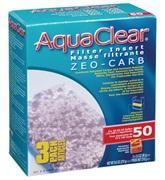 Masse filtrante Zeo-Carb pour filtre AquaClear 50/200, 270g (9,5 oz), paquet de 3