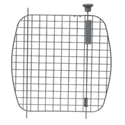 Porte grillagée en métal avec bouton d'ouverture argenté pour cages Voyageur Dogit, très grande