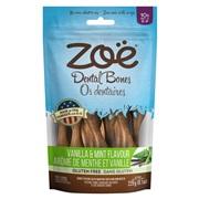Os dentaires Zoë, arôme de vanille et menthe, petits, 229 g (8,1 oz)