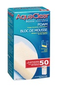 Bloc de mousse filtrante pour AquaClear 50/200, 70 g (2,5 oz)