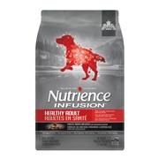 Aliment Nutrience Infusion pour chiens adultes en santé, Bœuf, 2,27 kg (5 lb)