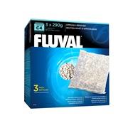 Neutralisant d'ammoniaque pour filtre à moteur Fluval C4, paquet de 3