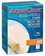 Blocs de mousse filtrante pour AquaClear 30/150, paquet de 3