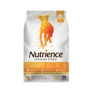 Aliment Nutrience Sans grains pour chiens, Dinde, poulet et hareng, 2,5 kg (5,5 lbs)