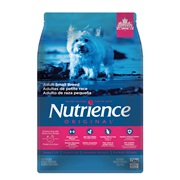 Aliment Nutrience Original, Adultes de petite race, Poulet et riz brun, 5kg (11 lb)