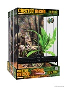 Terrarium équipé Exo Terra pour gecko à crête, petit, L.30 x l.30 x H.45cm