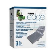 Sachet de charbon de rechange Clean & Clear EDGE Fluval, paquet de 3