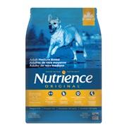Aliment Nutrience Original, Adultes de race moyenne, Poulet et riz brun, 5kg (11 lb)
