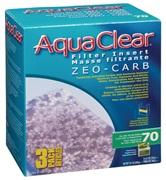 Masse filtrante Zeo-Carb pour filtre AquaClear 70/300, 540 g (19 oz), paquet de 3