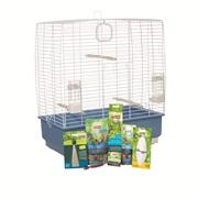 Cage équipée Living World pour perruches calopsittes, 61 x 33 x 67 cm (24 x 13 x 26,4 po)