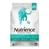 Aliment Nutrience Sans grains pour chats d'intérieur, Dinde, poulet et canard, 1,13 kg (2,5 lbs)