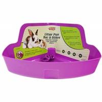 Bac à litière de coin LivingWorld pour petits animaux