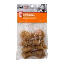 Os noué Dogit en cuir brut, 11,4 cm (4,5 po), paquet de 4