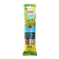 Bâtonnets Living World pour serins, saveur de miel, 60 g (2 oz), paquet de 2