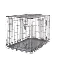 Cage grillagée Dogit à 2 portes avec grille de séparation, grande, 91 x 56 x 62 cm (36 x 22 x 24,5 po)