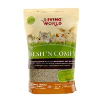 Litière Fresh 'N Comfy Living World, brune, 20 L (1 220 po3)