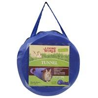Tunnel Living World pour petit animal, grand, L. 90 x diam. 20cm (35,4 x 7,9po)