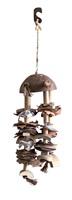 Carillon de coque de noix de coco Nature's Treasure Living World pour petits et moyens oiseaux à bec crochu