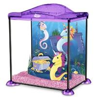 Aquariums-équ.-plastique--poisson-rouge-