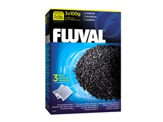 Charbon Fluval, 3 sachets de nylon de 100g (3,5oz)