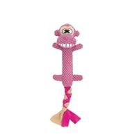 Jouet Stuffies Dogit pour chiens, branche en peluche, singe, 44cm (17,5po)