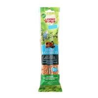 Bâtonnets Living World pour perruches ondulées, saveur de fruits, 60 g (2 oz), paquet de 2