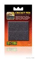 Blocs de mousse pour Habitat Cricket Pen Exo Terra pour grillons, paquet de 2
