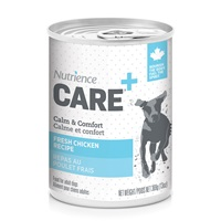 Pâté Nutrience Care Calme et confort pour chiens, repas au poulet frais, 369g (13 oz)